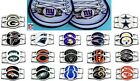 CHOOSE TEAM 2 Pack Shoe Charm OFFICIAL LICENSED NFL New Metal Jewelry Boot Lace