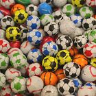 Chocolate Foil Wrapped Footballs Sports Balls Mixed Or Individual Sports Colours