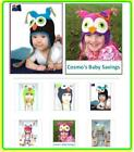 Fashion Cute Baby Boy/Girl/Toddler Owls Knit Crochet Hat Beanie Cap / Baby Gift