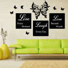 BUTTERFLY car girly living room bedroom decals stickers vinyl wall art sticker