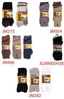 Mens Jeep Socks Cotton Rich Terrain Boot Socks - 3 Pair Pack