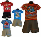 Boys New LOVELY T-shirt/ Top and Shorts/ Pants 2 Pieces Set 2-6yrs 4 colours
