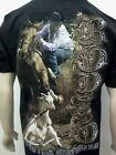 RODEO MENS T-SHIRT Free Shipping New Mens Shirt Size SM,MED,LG,XL,2X
