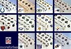 CHOOSE TEAM Cover Table New Cloth Plasitic Official NFL Washable 9' or 2- 4.5'