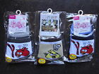 New Angrybirds Boys  Cotton Socks x 3 Pairs 1-7 Years