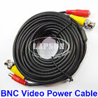 10m 15m 20m BNC Male to Male Extension Video DC Power Cable F CCTV DVR Camera UK