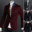 Hot ! The new Korean Slim leisure suit a male buckle men's suits