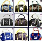 CHOOSE TEAM PURSE Handbag New Tote Bag Licensed NFL Vinyl Washable ShipsPriority