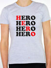HERO - Celebrity / Brave / Soldier / Family / Novelty Themed Womens T-Shirt