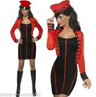 Ladies Military Pop Star Cheryl Cole Celebrity 1990s Fancy Dress Costume Outfit