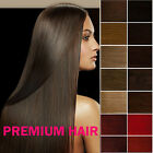Clip In on Remy Real 100% Human Hair Extensions DIY 6pcs Half Head Choose Colour