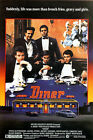 DINER (MICKEY ROURKE AND KEVIN BACON) MINI FILM POSTER PRINT 01