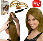 Bumpits Hair Volumizing Leave-In 3 Inserts Comb With Styling Guide As-Seen-On-TV