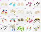 22 Style Collection Retro Colorful Lion Snake Flower Earrings
