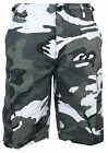 BDU Cargo Shorts in URBAN CAMO - All Sizes - Cotton RIPSTOP Combat Camouflage