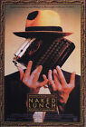 NAKED LUNCH (PETER WELLER AND JUDY DAVIS) MINI FILM POSTER PRINT 01