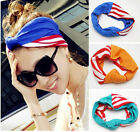 "3.5"" width double layered headband with Knot  Soft Headwear headwrap Turban"