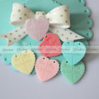 10 PCS New DIY Craft Be My Valentine Hearts Resin Flatback Scrapbook Decorations