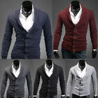 New - Fashion Men's Casual Slim sweater / cardigan-5color-4size