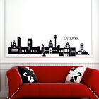 LIVERPOOL SKYLINE wall sticker city outline sihouette decal art vinyl stickers