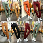 Men's Korean Stylish Skinny Slim Pencil Jeans Pants Casual Trousers Denim Cowboy