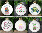 Christmas PERSONALISED Tree BAUBLE Decoration KEEPSAKE For Child Him Her China