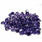 Round Cut 6mm ~purple Amethyst Simulated Dia~Cubic Zirconia~VVS Grade Twinkling