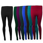 NEW LADIES SKINNY FIT COLOURED STRETCHY WOMEN'S LEGGINGS TROUSERS 8-10-12-14-16