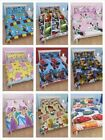 KIDS CHARACTER DOUBLE DUVET SETS BEDDING - OFFICIAL - 21 DESIGNS TO CHOOSE