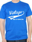 VINTAGE 1967 AGED TO PERFECTION - Birth Year /Birthday Gift Themed Men's T-Shirt