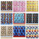 "BOYS / GIRLS/ KIDS NOVELTY / CHILDREN'S / CHARACTER CURTAINS 66"" WIDE X 72"" DROP"