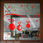 Christmas Decoration Sticker / Shop Window Xmas Sign / Huge Size available N101