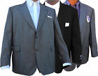 STAFFORD Performance Men's Blazer Classic Sport Coat 100% Worsted Wool Jacket