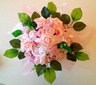 LARGE PINK GIRLS BABY BOUQUET, BABY SHOWER GIFTS, MATERNITY, NEW!!!!!!!!