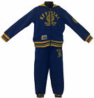 Boys 2 Pieces Outfit/ Set-Hoodie Jacket,Tracksuit Jogging Pants&Top 2-14yrs Blue