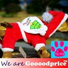 Halloween Cute Pet Dog Puppy Costume Santa Claus Style 5 Size Mini to Middle Dog