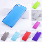 Wholesale 0.5mm Ultra Thin Matte Back Hard Plastic Case Cover For iPhone 5 5G