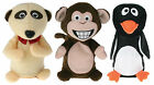 Chitter Chatter Animals - Choose in Monkey, Penguin or Meerkat