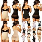 Slimming Tummy Braless Body Shaper, Boyshort, Black/Nude Open Gusset, Daily Wear