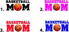 Waterslide Nail Decals Set of 20 - Basketball Mom - you choose