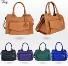 BRAND NEW DESIGNER LADIES FASHION HANDBAG TOTE SATCHEL SHOULDER BAG 5216
