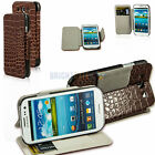 Flip Wallet Pouch Cover Credit Card Holder PU Leather Case for Galaxy S3 I9300