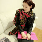 Fashion Girls Women's Soft Long Leopard Print Scarf Wrap Stole