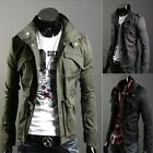 ItS7 Mens Slim Fit Sexy Top Designed Military Jackets Coats Tops Topcoat 4 sizes