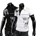 US Men Stylish Slim Fit Casual Short Sleeve POLO Shirt T-shirt Tee Polo Tops 4SZ