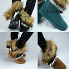 1 Pair New Stylish Autumn Winter Fur Snow Boots Lady Women Ankle Boots