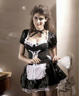 New women Sexy French Maid servant fancy dress costume outfit+Duster