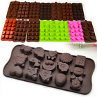 1PC DIY Multi-shape Chocolate Jelly Muffin Ice Cake Jelly Candy Mold Soap Mould