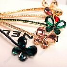 Women Crystal Hair Clip Butterfly Hairpin Fashion Barrette Bowknot Headdress