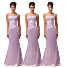 2014 New Arrival Women Party Wedding Formal Evening Prom Gown Pageant Long Dress